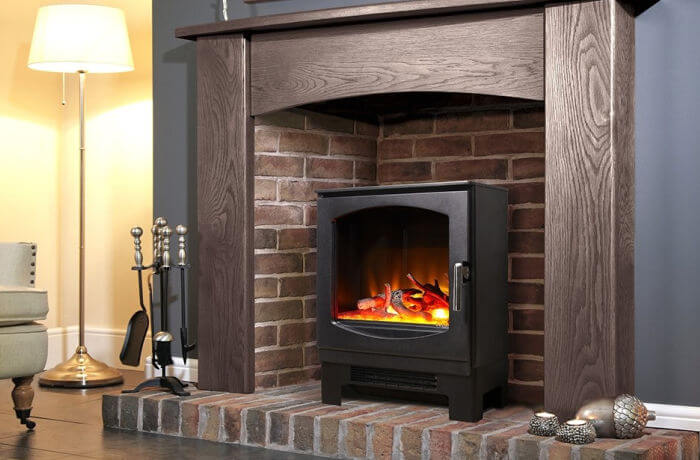 Our Most Realistic Electric Log Burners