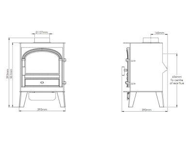 Parkray Consort 5 Gas Stove