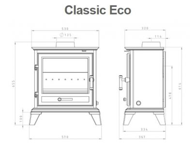 Gallery Classic Ecodesign Multifuel Stove