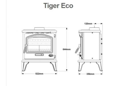 Tiger Ecodesign Multifuel Stove