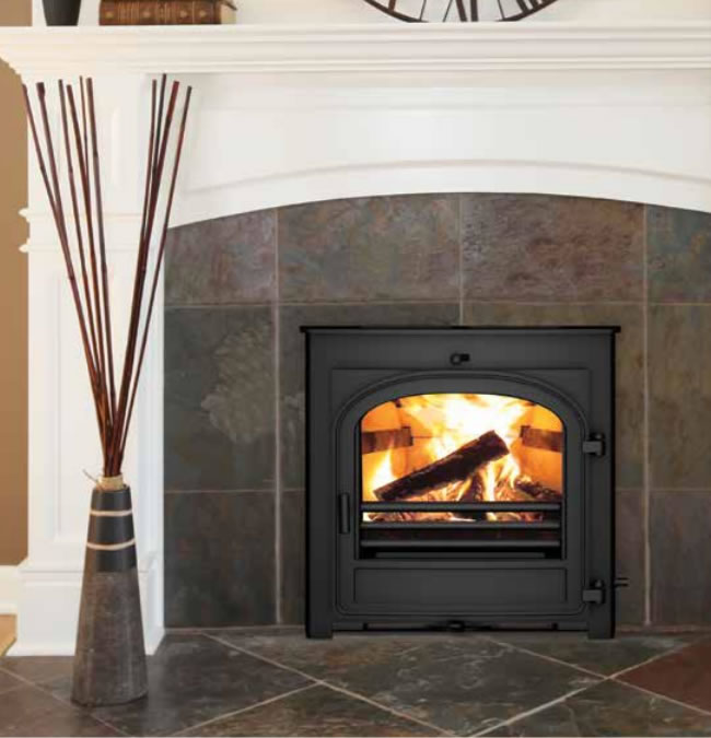 Hunter Telford 8 DEFRA Approved Multi Fuel Inset Stove