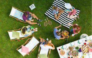 Summer Outdoors Garden Party