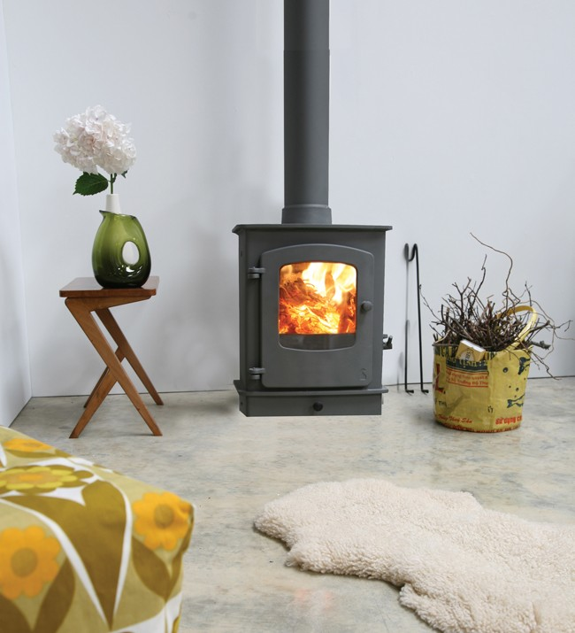 The Perfect Small Space Stove Solution For A Garden Room