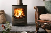 Charnwood C4 bronze wood burning stove
