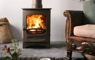 Charnwood C4 bronze wood burning stove