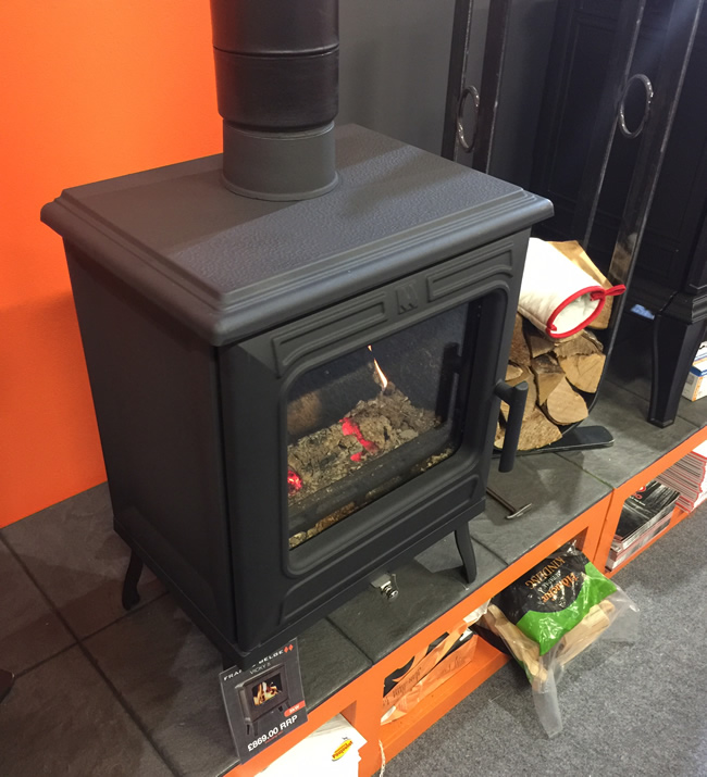 Franco Belge Vicky Stove, a 5kW Defra Wood Burning Stove