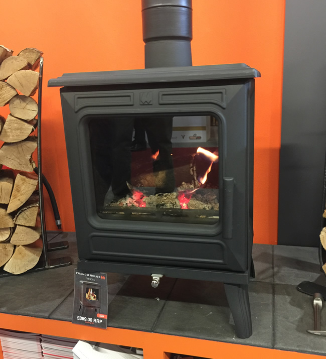 First Look New Franco Belge Vicky Stove Direct Stoves Resources