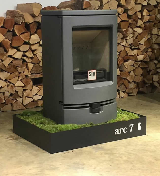 The New Charnwood Arc 7kW Stove