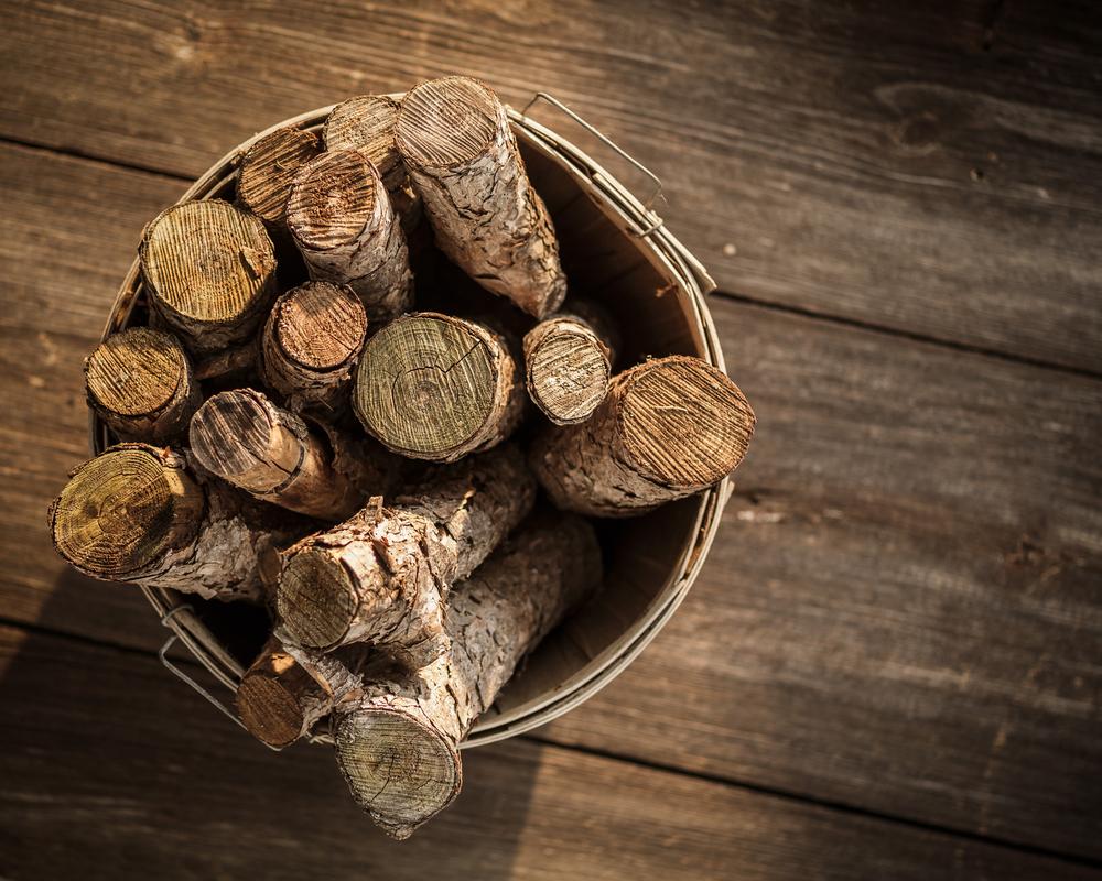 Bucket Of Firewood