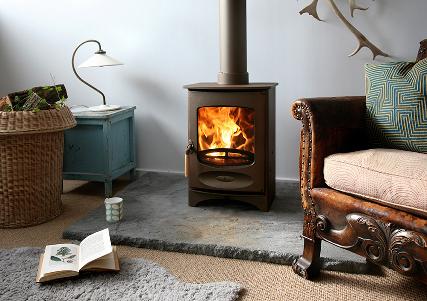Charnwood C-Four Blu Ecodesign Ready Wood Stove
