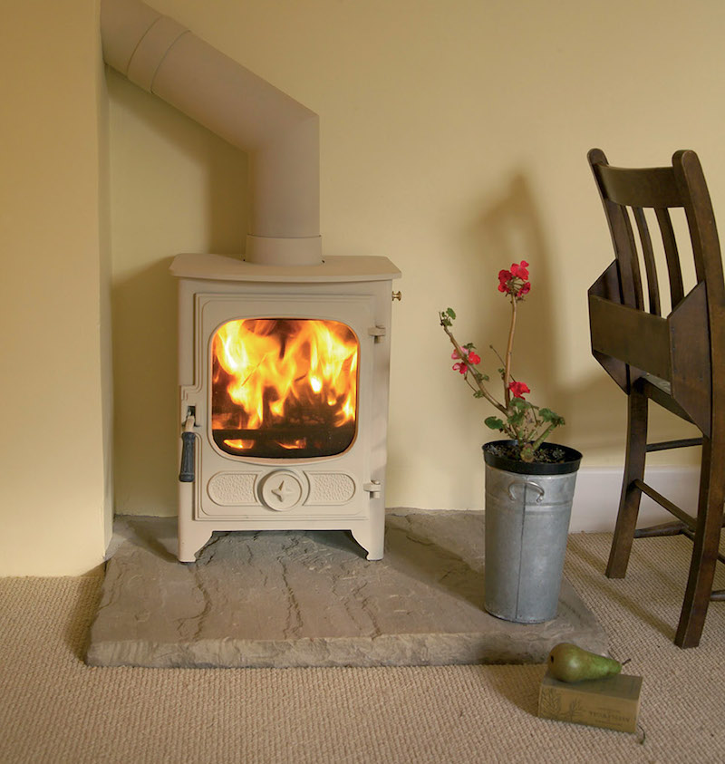 Charnwood Country 4 Wood Burning / Multifuel DEFRA Approved Stove