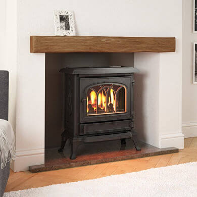 Broseley Canterbury Slimline Gas Stove from Stoves Direct