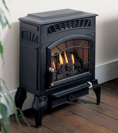 Burley Esteem 4221 Flueless Gas Stove from Stoves Direct