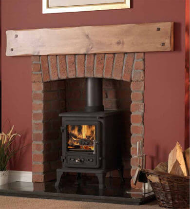 Firefox 5 Cleanburn Defra Approved Wood Burning _ Multi Fuel Stove