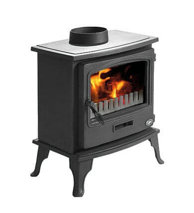 Tiger Cleanburn Defra Approved Wood Burning _ Multi Fuel Stove