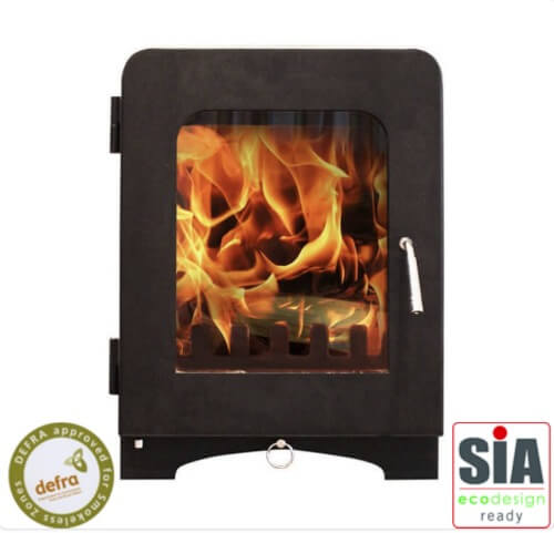 Saltfire ST2 Multi-Fuel Defra Approved Stove