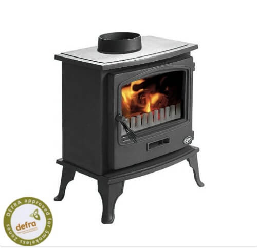 Tiger Cleanburn Defra Approved Wood Burning / Multi Fuel Stove