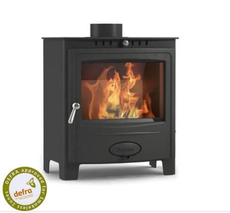 Hamlet Solution 5 Widescreen Defra Approved Wood Burning Multifuel Stove