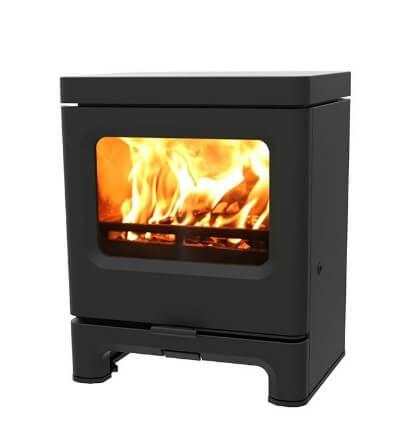 Contemporary log burner - Charnwood Skye 5 Defra Approved Multi Fuel Stove