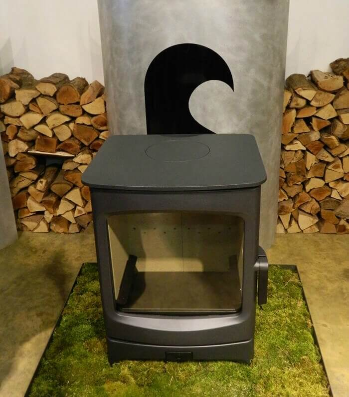 The new Charnwood Aire Ecodesign Wood Burning Stove