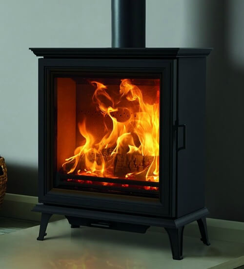 Stovax Sheraton 5 Wide Defra Wood Burning Stove
