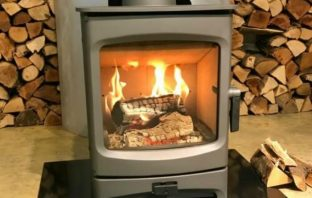 charnwood aire stove fire