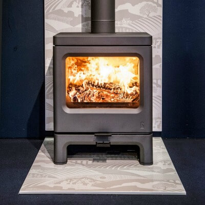 Charnwood Skye 7 Approved Defra Multi Fuel Stove