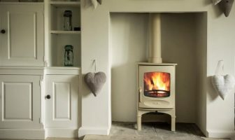 Charnwood C4 Stove in Almond