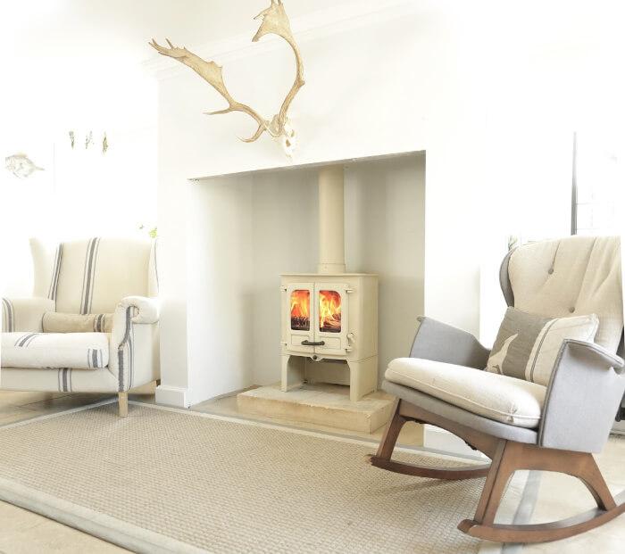 Charnwood stove in snug