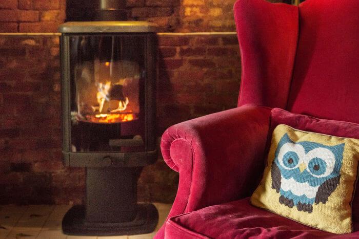 Charnwood stove in Rob da Bank's home
