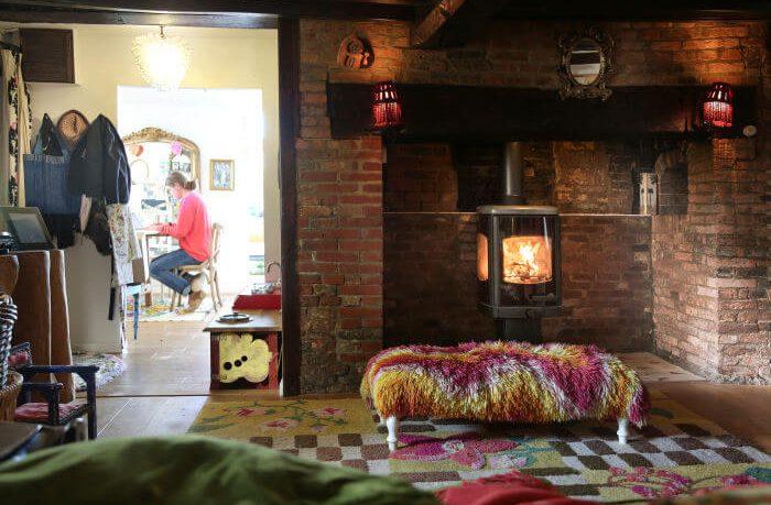 Charnwood stove in Rob da Bank's house