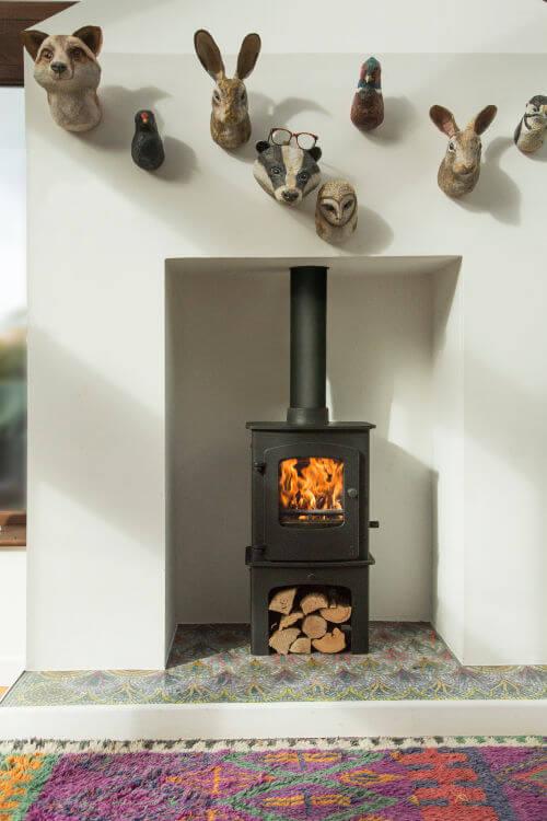 Charnwood stove at Rob da Bank's house