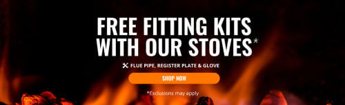 Free Stove Fitting Kit Banner