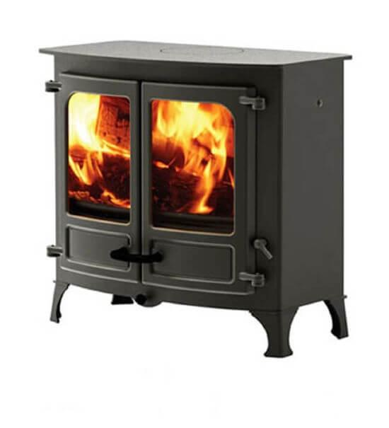 Charnwood Island three stove