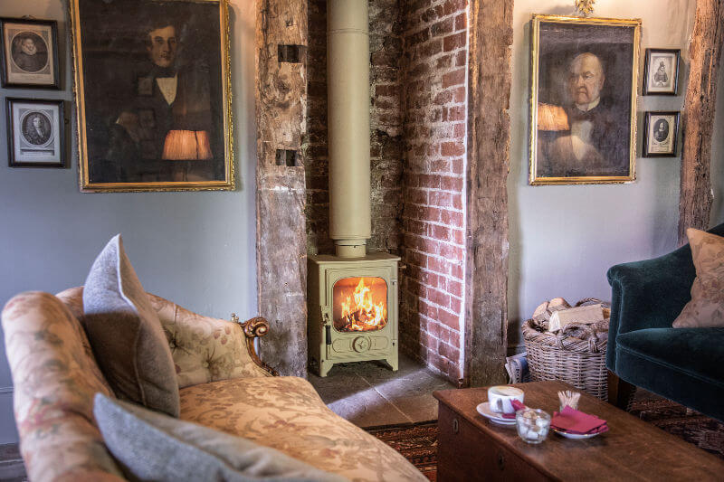 Charnwood Country 4 Stove at the Pig Hotel