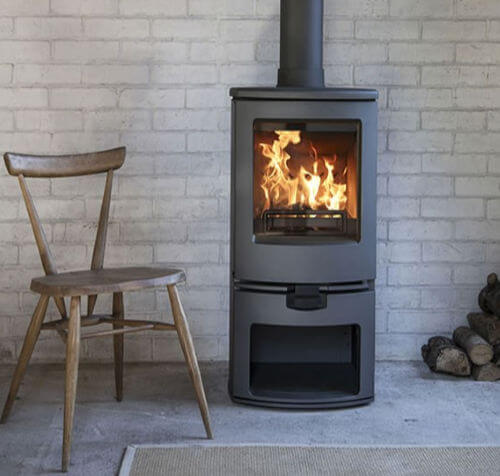 Charnwood Arc 5kW Log Store Eco Design Ready Stove