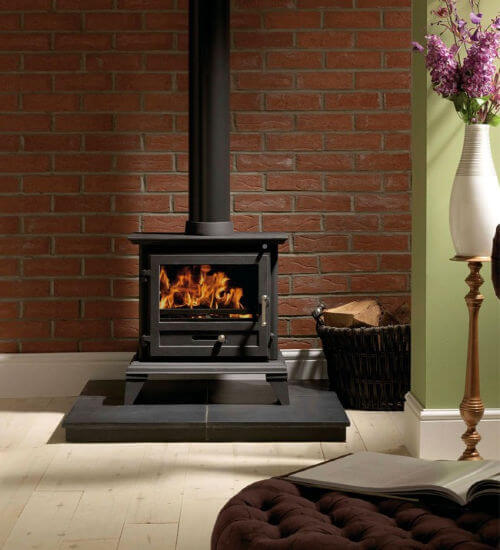 Gallery Classic 8 Wood Burning and Multi Fuel Defra Approved Stove