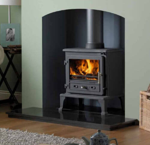 Firefox 8 Cleanburn Defra Approved Wood Burning - Multifuel Stove