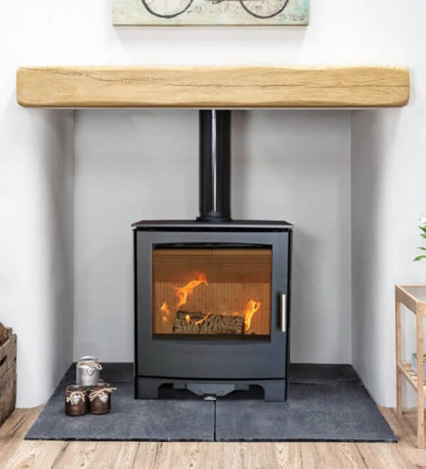 Mendip Woodland 5kW Defra Convection Stove