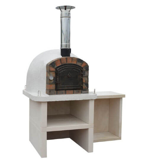 Premier Wood Fired Pizza Oven with Stand & Table