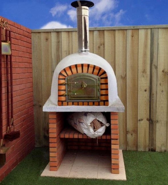 900mm - 900mm Outdoor Wood Fired Pizza Oven