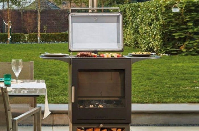 Chesneys Heat and Grill Outdoor Wood Burning Barbecue and Outdoor Stove
