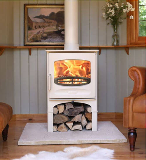 Charnwood C-Five BLU Ecodesign Ready Wood Burning Stove