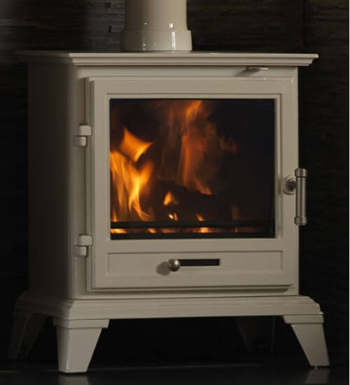 Gallery Classic Warm White Ecodesign Multifuel Stove
