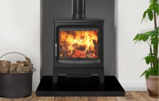 Saltfire Peanut 8 Tall Eco Design Ready Wood Burning Stove
