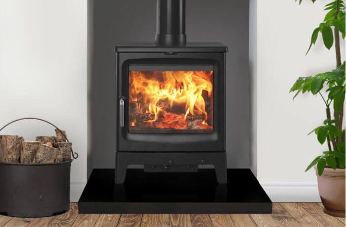 Saltfire Peanut 8 Tall Eco Design Ready Wood Burning Stove