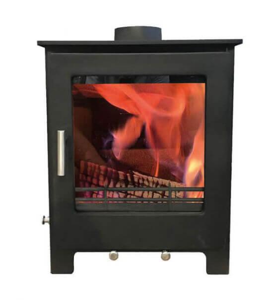 Woodford Lowry 5X Ecodesign Ready Wood Burning - Multi Fuel Stove