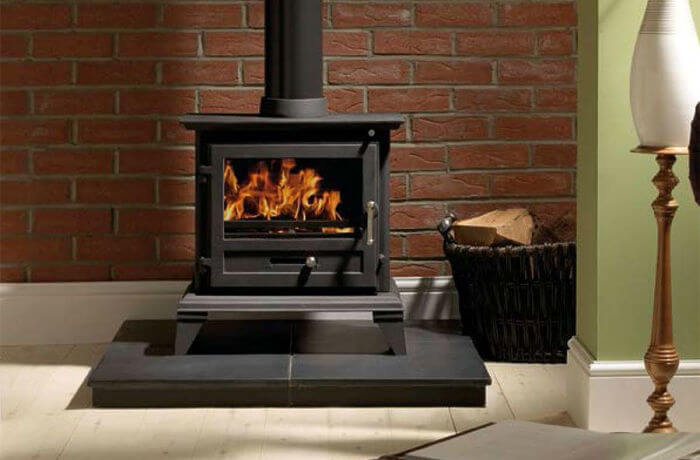 The Log Burner Hearth Regulations To, How To Build A Brick Wood Stove Surround