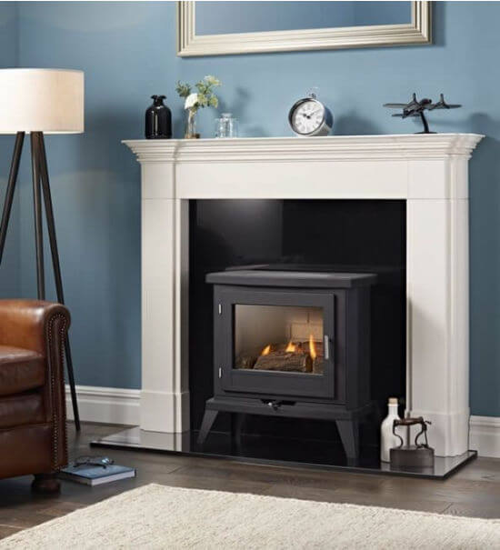 Eko Fires 6030 Black Flueless Gas Stove