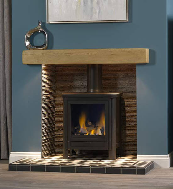 Gallery Collection Darwin Balanced Flue Gas Stove